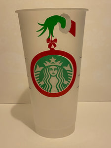 Starbucks Cold Cups - Grinch