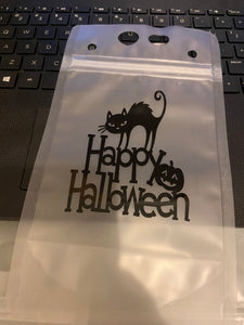 Reusable Drink Pouches Halloween, Fall, Teacher