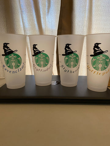 Harry Potter Starbucks Reusable Cups