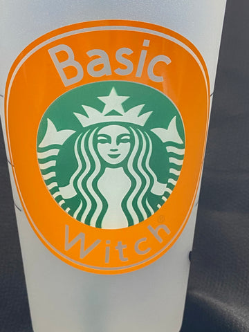 Basic Witch Halloween Starbucks Cold Cup