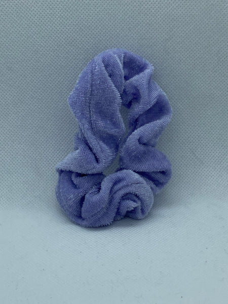 Velvet Hair Scrunchies - Huge Variety of Colors