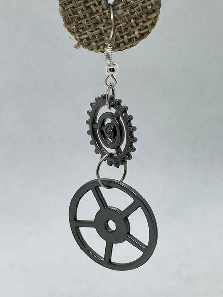 Steampunk Dangle Earrings