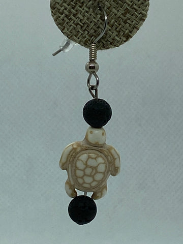 Sea Turtle Beachy Earrings
