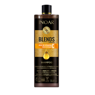 INOAR Blends Shampoo – šampūnas su vitaminu C 1000 ml