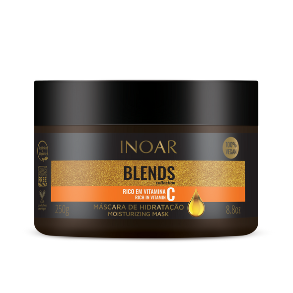 INOAR Blends Mask - kaukė su vitaminu C 250 g
