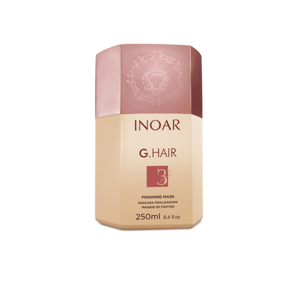 INOAR G.Hair Finishing Mask Step 3 - kaukė procedūros užbaigimui 250 ml