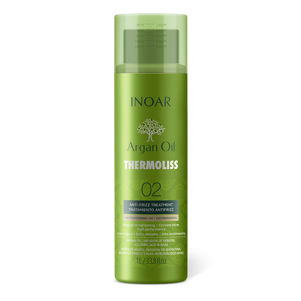 INOAR Thermoliss Anti - Frizz Treatment Step 2 - glotninanti priemonė 900 ml