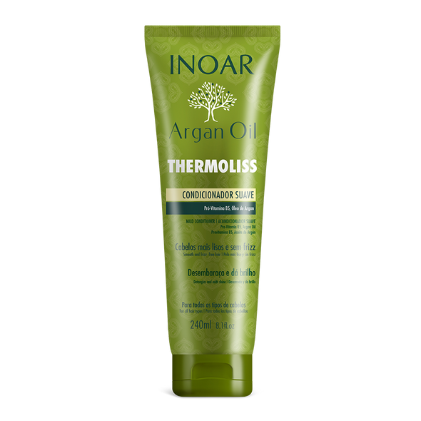 INOAR Thermoliss Conditioner - tiesinantis, glotninantis kondicionierius 240 ml