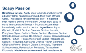 Soapy Passion Bar