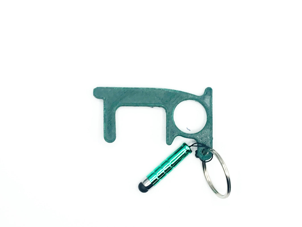 Deluxe Touch Tool with Stylus - in Green