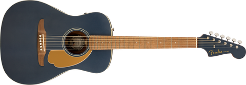 FENDER MALIBU PLAYER ACOUSTIC - MIDNIGHT BLUE SATIN