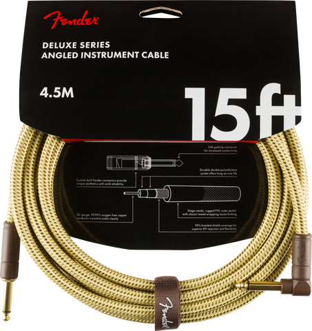 FENDER DELUXE ANGLED INSTRUMENT CABLE
