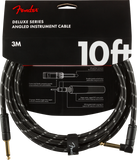 FENDER DELUXE SERIES STRAIGHT/ANGLE INSTRUMENT CABLE