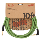 FENDER FESTIVAL HEMP ANGLED INSTRUMENT CABLES