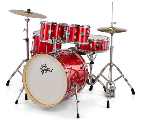 GRETSCH ENERGY SERIES ROCK 5-PCE DRUM KIT WITH HARDWARE –