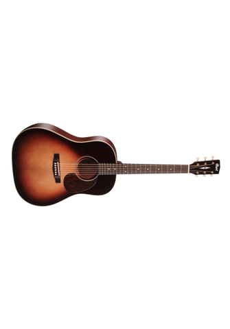 CORT EARTH 100SSF SUNBURST SLOPE SHOULDER ACOUSTIC WITH PICKUP