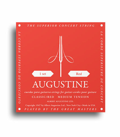 AUGUSTINE RED CLASSIC STRINGS