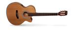 CORT CEC3 CLASSICAL WITH CUTAWAY AND PICKUP - NATURAL SATIN