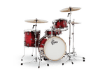 GRETSCH CC4 2O INCH KICK 4 PIECE GLOSS CRIMSON BURST SHELL PACK