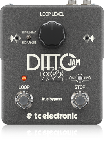TC Electronic Stereo Dual Button Looping Pedal for Guitarists
