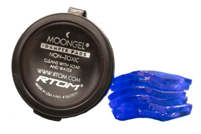 MOONGEL DRUM DAMPNERS 4PC + 2 FREE