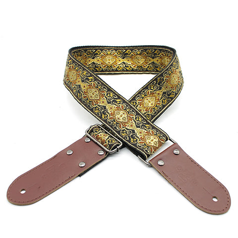 DSL JACQUARD WEAVING STRAP APR-GOLD