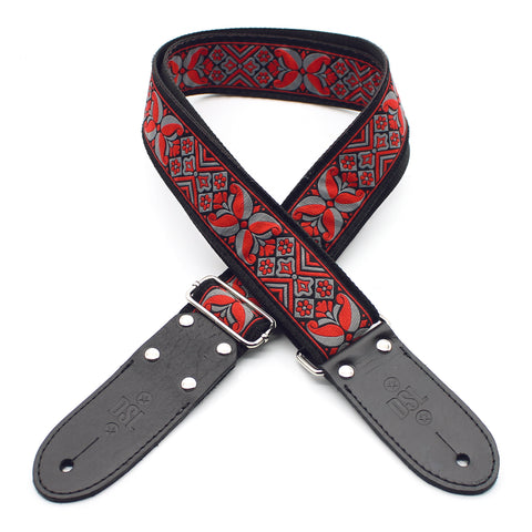 DSL JAC20-DC-RED GUITAR STRAP