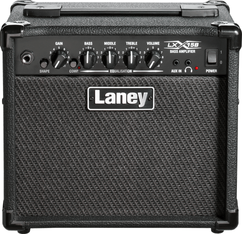 LANEY LX 15W 2X5 BASS AMP