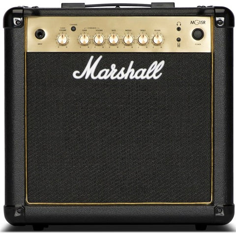 MARSHALL MG15GR 15W MG GOLD COMBO WITH REVERB