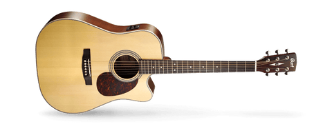 CORT MR710F NATURAL SATIN WITH HARD CASE