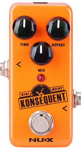 NU-X MINI CORE SERIES KONSEQUENT DIGITAL DELAY