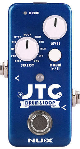 NUX JTC LOOP PEDAL WITH DRUM MACHINE
