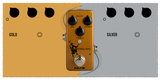 NU-X MINI CORE SERIES HORSEMAN OVERDRIVE TWO IN ONE OVERDRIVE PEDAL