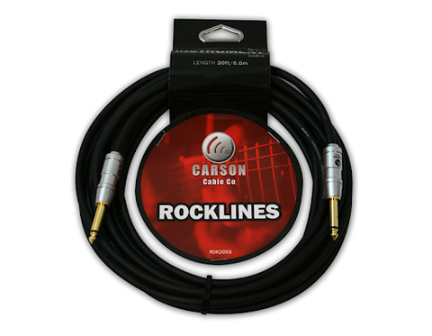 CARSON ROCKLINES 20FT INSTRUMENT CABLE ROK20SS