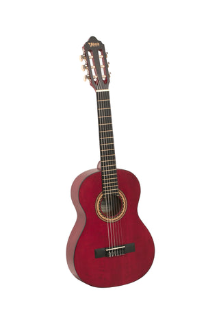 VALENCIA 200 SERIES CLASSICAL 1/2 SIZE - WINE RED