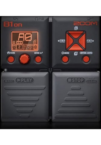 ZOOM B1ON BASS FX