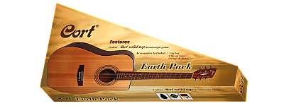 Cort Earth 70 Pack OP Dreadnought Pack