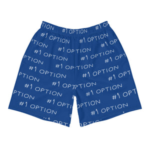 #1 OPTION SHORTS: BLUE
