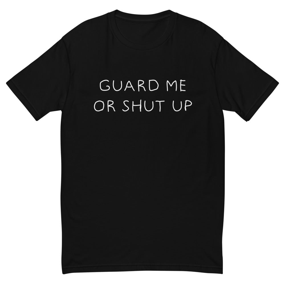 Guard Me T-Shirt: Black