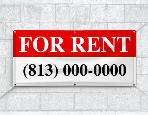 For Rent Banner (Customizable)