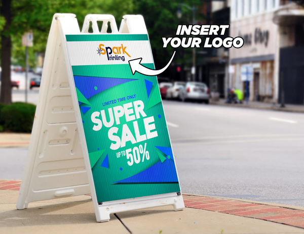 Super Sale Sidewalk Sign (Customizable)