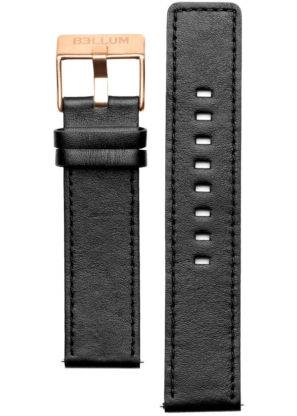 BLACK STRAP / ROSE GOLD