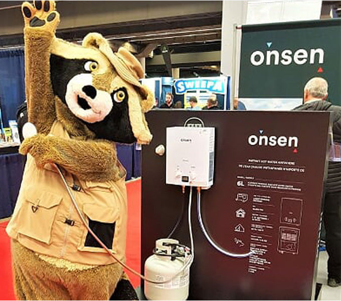 Onsen Products Mascot