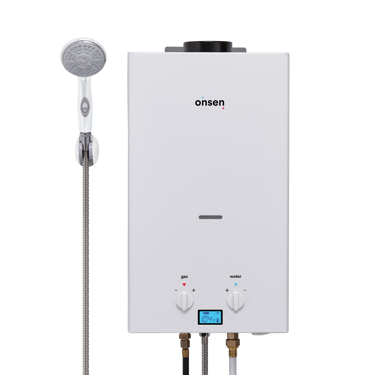 Onsen 10L Portable Tankless Water Heater w//Onsen 3.0 12V Water Pump