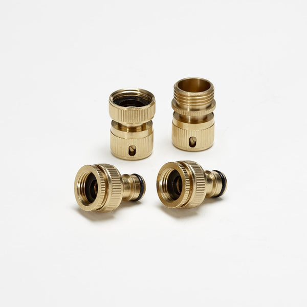 Onsen Accessories Garden Hose Brass Quick Connectors