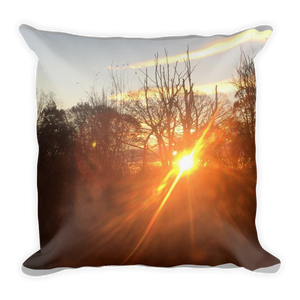 BRIGHT SUNSET | Premium Pillow