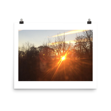 Load image into Gallery viewer, BEAMING SUNSET | Poster