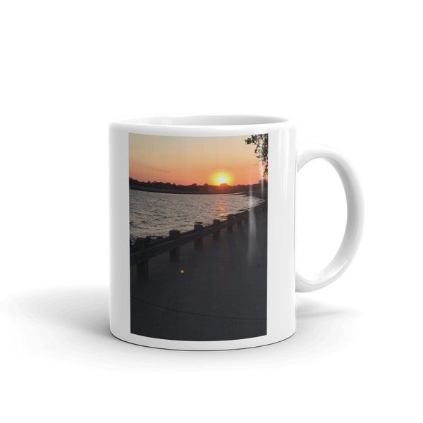 WATERFRONT SUNSET | Mug