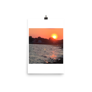 BRIGHT SUNSET | Poster