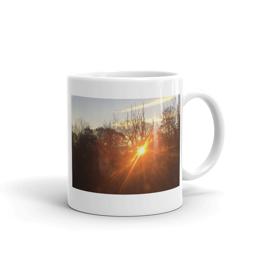 BEAMING SUNSET | Mug